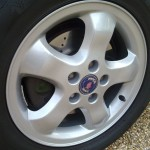 Newly refurbished wheels