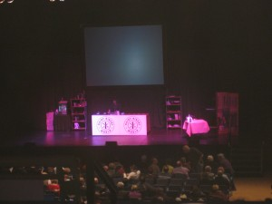 Hairy Bikers Stage