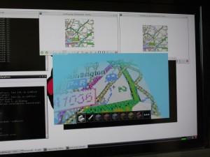 Ordnance Survey map inside Minecraft Pi edition